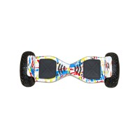 Гироскутер Smart Balance 10 off road PRO граффити белый (+Mobile APP) (+Balance)