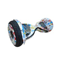 Гироскутер Smart Balance 10 New белый граффити (+Mobile APP) (+Balance)