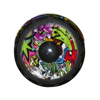 Гироскутер Smart Balance 10 NEW граффити фиолетовый (+Mobile APP) (+Balance)