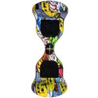 Гироскутер Smart Balance Wheel Suv 10 граффити желтый
