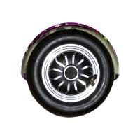 Гироскутер Smart Balance Wheel Suv 10 граффити фиолетовый (+Mobile APP) (+Balance)