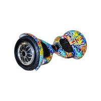 Гироскутер Smart Balance Wheel Suv 10 граффити оранжевый