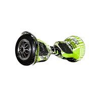 Гироскутер Smart Balance Wheel Suv 10 граффити зеленый (+Mobile APP) (+Balance)