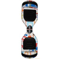 Гироскутер Smart Balance Wheel 6,5 граффити белый (+Mobile APP) (+Balance)