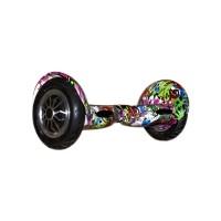 Гироскутер Smart Balance Wheel Suv 10 граффити фиолетовый