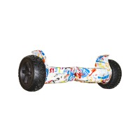Гироскутер Smart Balance 9 Off-Road граффити белый (+Mobile APP)