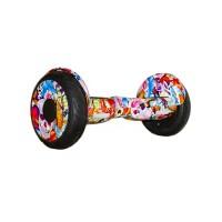 Гироскутер Smart Balance 10 New Граффити розовый (+Mobile APP) (+Balance)