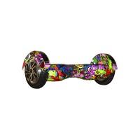 Гироскутер Smart Balance Transformer 8 граффити фиолетовый (+Mobile APP)