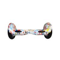 Гироскутер Smart Balance Wheel Suv 10 граффити белый (+Mobile APP) (+Balance)