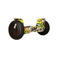 Гироскутер Smart Balance 10 off road PRO граффити желтый (+Mobile APP) (+Balance)